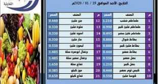 عروض جمعية الصباحية التعاونية ليوم الاحد 19/1/2020