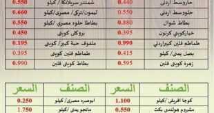عروض جمعية أبو حليفة التعاونية الكويت 1 مارس 2020